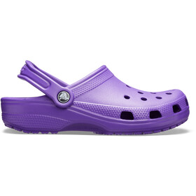 Crocs Classic Clogs, neon purple